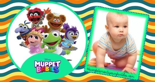 Muppet Babies Efectos para fotos - marcos infantiles muppet babies