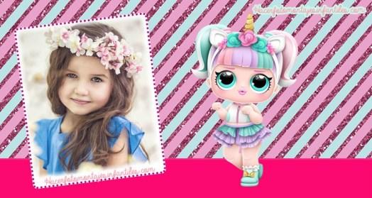 Lol unicorn frames - lol dolls frames - lol surprise frames