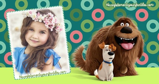 Fotomontajes La vida secreta de tus mascotas - the pets of secrets photo frames