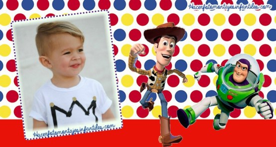 fotomontajes woody y buzz lightyear