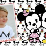 Fotomontajes Minnie y Mickey cute