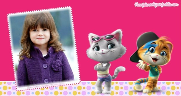 Fotomontajes Infantiles 44 Gatos