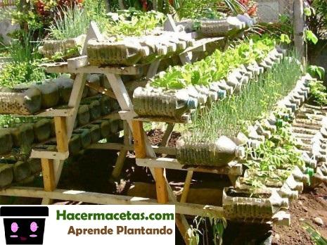 Como Hacer Un Jardin Con Material Reciclado. Otras Realizadas Con ...