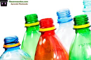 Botellas De Plastico Para Hacer Macetas