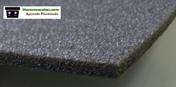 polietileno gris para cultivo hidroponico