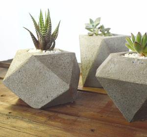 Como Hacer Macetas de Cemento diferentes
