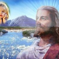 Marco para foto, junto a Jesús