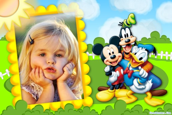 Fotomotnaje de Mickey gratis