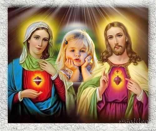 virgen de guadalupe y jesus