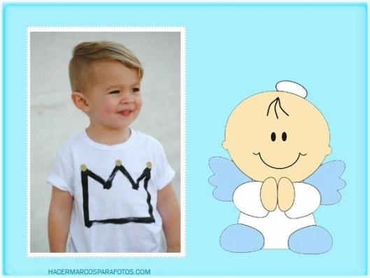 Boy Baptism angel