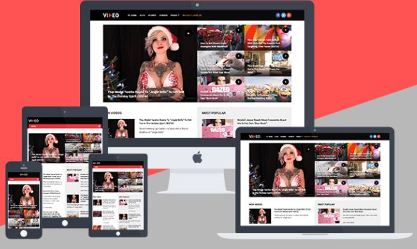 example of a responsive template