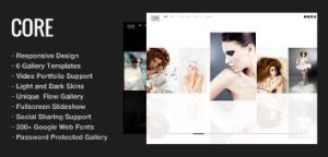 how to design a photography website