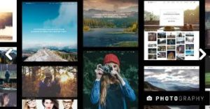 building a photography website