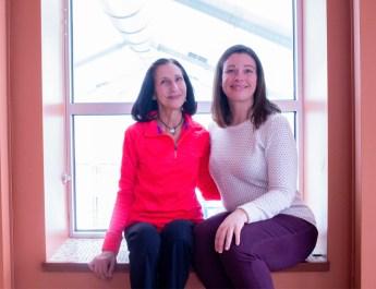 Lauren Horney and Debbie Gala