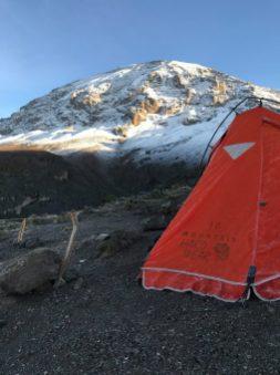 Tent on Mountain