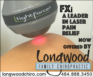 Longwood Family Chiropractic laser pain relief