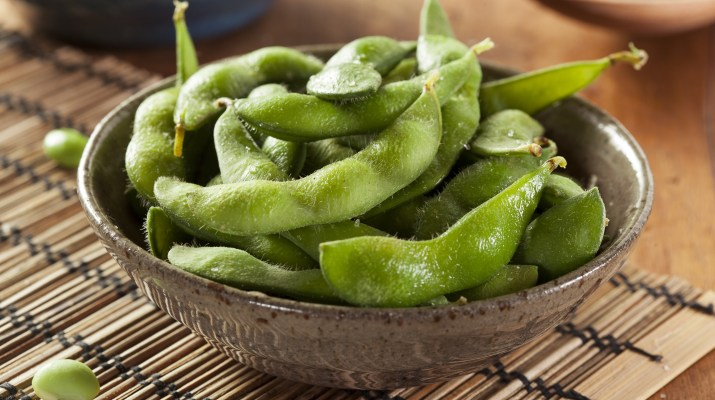 Edamame Soy Beans in a Bowl