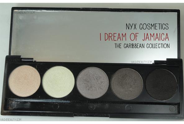 nyx caribbean jamaica 5 eyeshadows 1