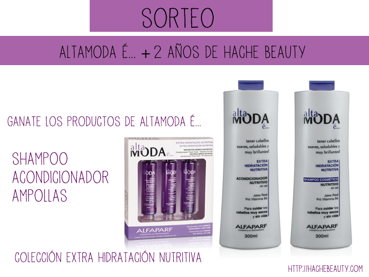 sorteo altamodae hache beauty blog