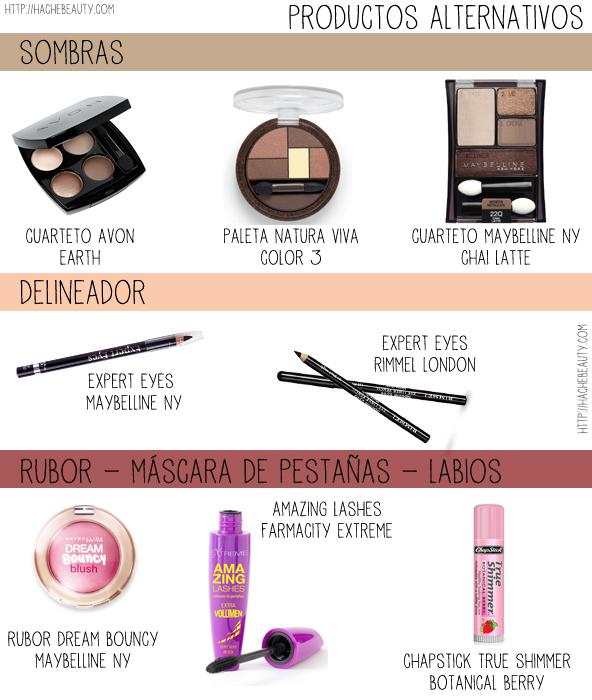 tutorial ojos neutros alternativas maquillaje