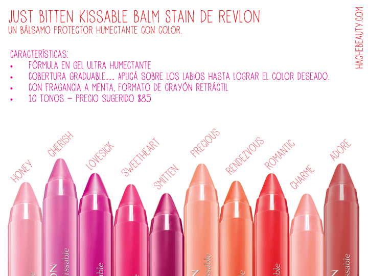 just bitten kissable Revlon