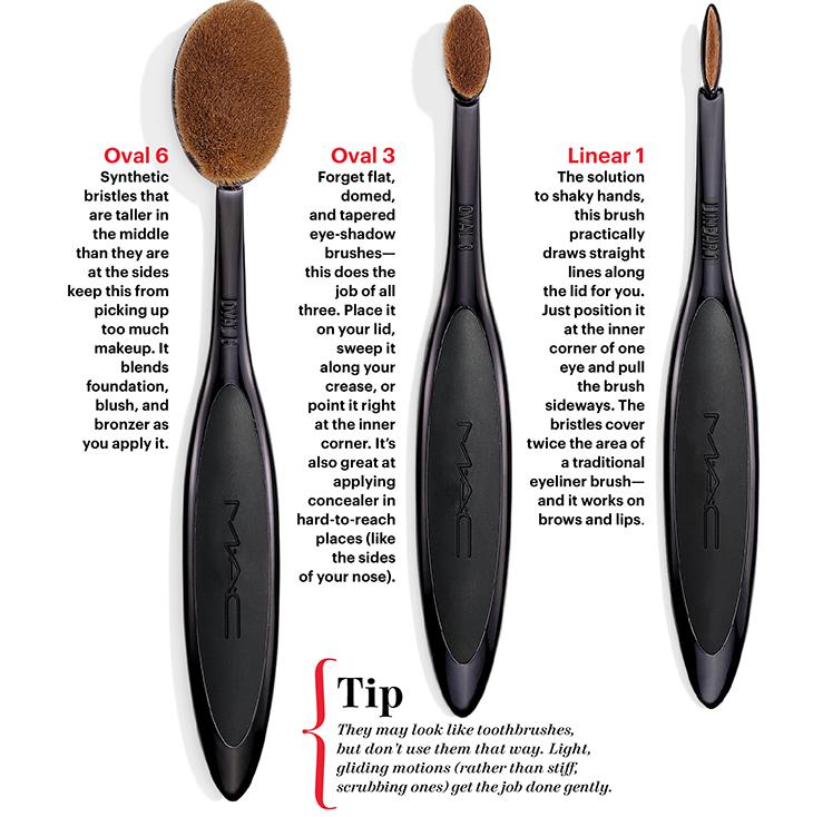 mac brushes pinceles mac hache beauty