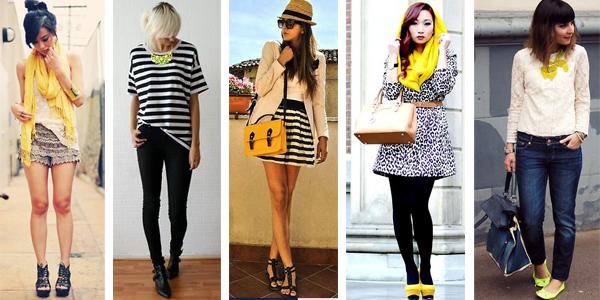 como usar amarillo verano tendencia argentina 1