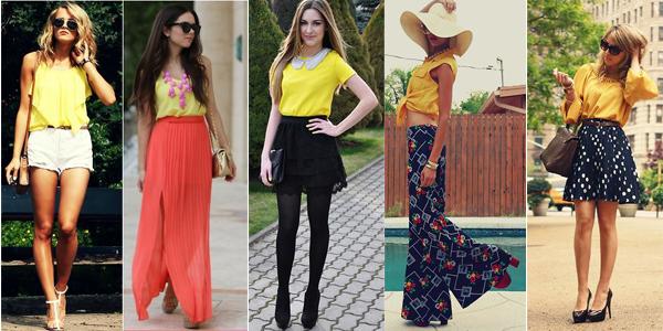 como usar amarillo verano tendencia argentina 3