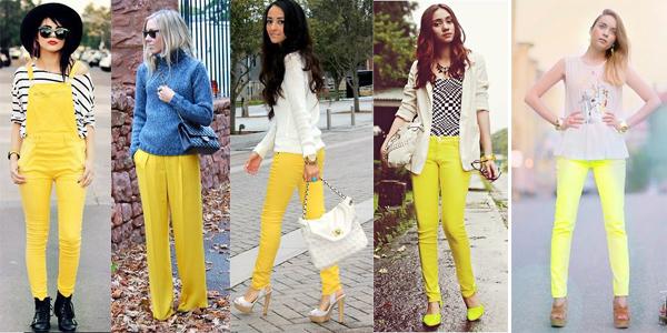 como usar amarillo verano tendencia argentina 7