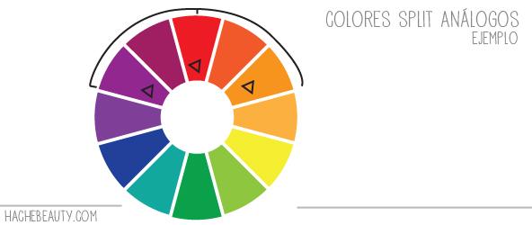 colores split analogos