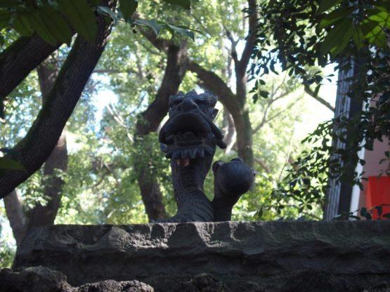 田無神社の黒龍神
