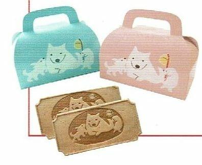 安産子宝のご利益で知られる日本橋水天宮の子宝犬せんべい