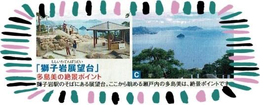 宮島ロープウェイの獅子岩展望台