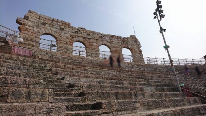 ヴェローナのおすすめ観光地アレーナ・ディ・ヴェローナ(円形劇場)