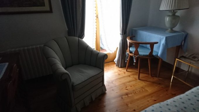 ドロミテのコルチナダンペッツォで宿泊したホテルアンコラ