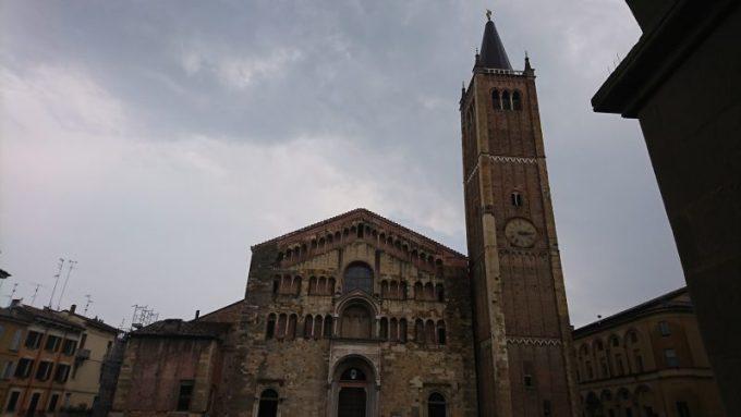 フレスコ画が素晴らしいパルマ大聖堂