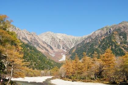 ゆたかな自然で多くの人に愛される穂高の上高地