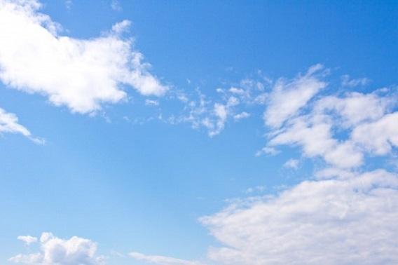 澄み渡ったフリーを思わせる空