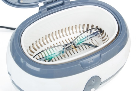 眼鏡の超音波洗浄