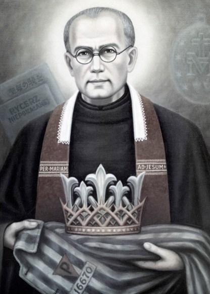 www.haciadios.com San Maximiliano Kolbe