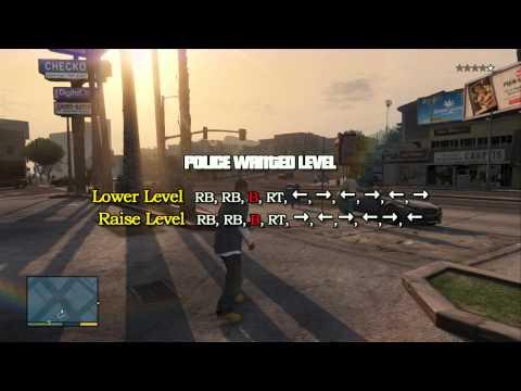 PS3XBOX360 GTA5 All Cheat Codes Tutorial HACK CHEAT