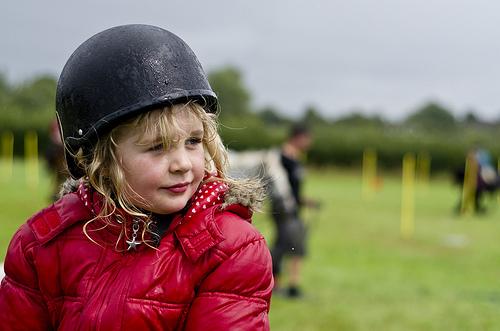 CHILD helmet photo