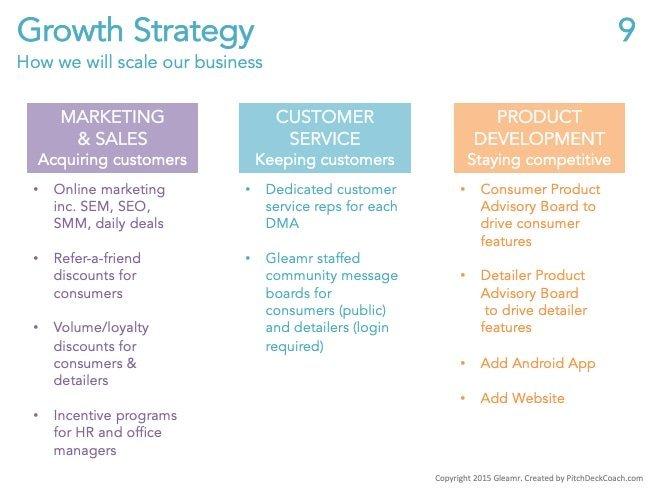 Pitchdeck perfeito - Estratégia de Crescimento