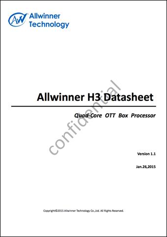 Allwinner_H3_Datasheetv1.1