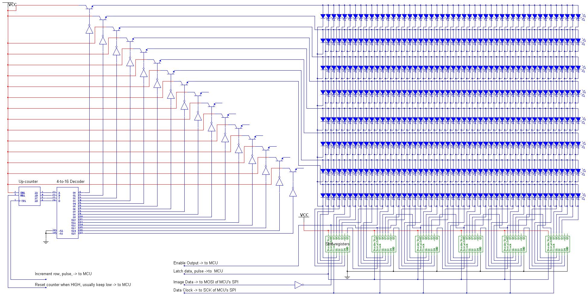 Avr Controlled Rgb Led Matrix Plays Tetris