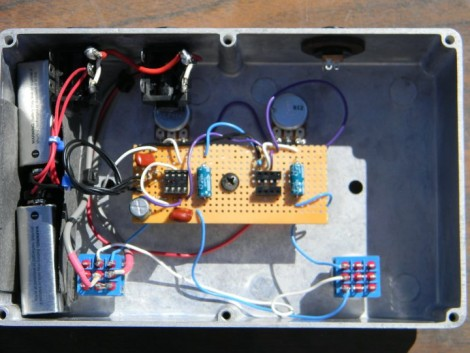 building a germanium fuzz face guitar pedal  hackaday