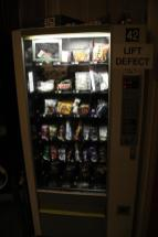 And a vending machine!