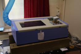 Modified chinese laser engraver