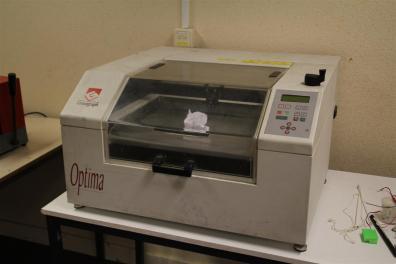 More professional but older laser engraver