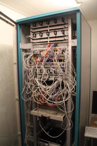 A tidy server rack.